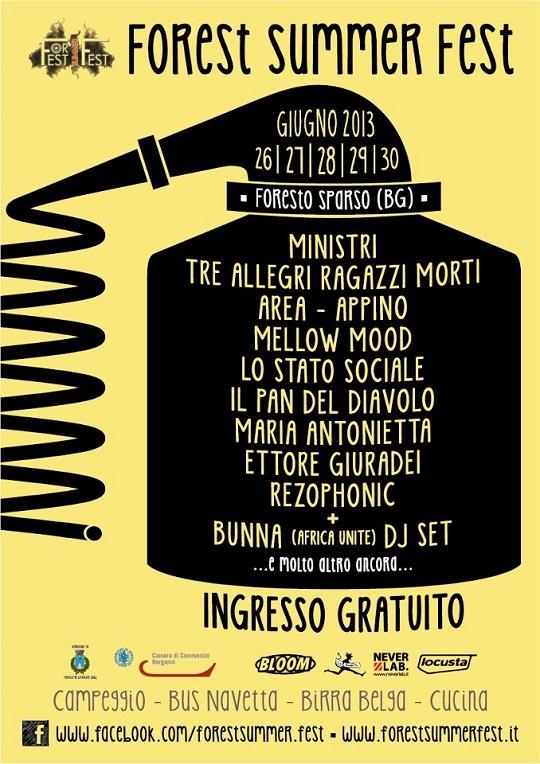Forest Summer Fest a Foresto Sparso (BG)
