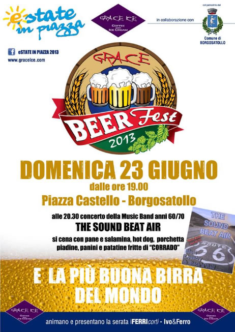 Grace Beer Fest a Borgosatollo