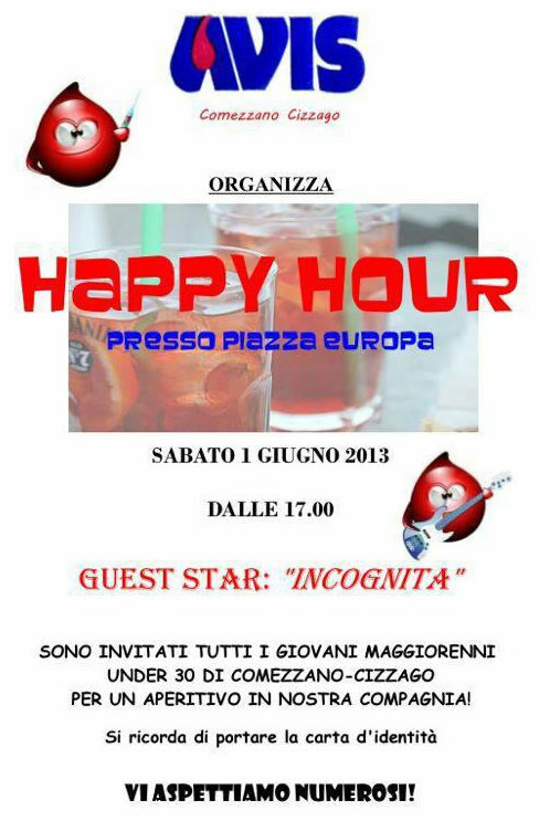 Happy hour a Comezzano Cizzago
