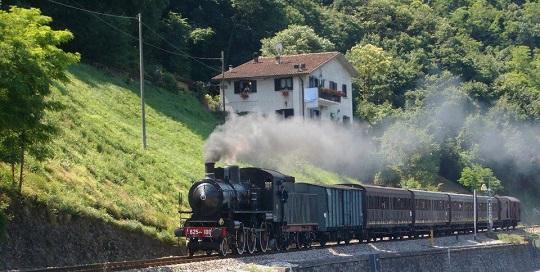 In treno sull'Isola