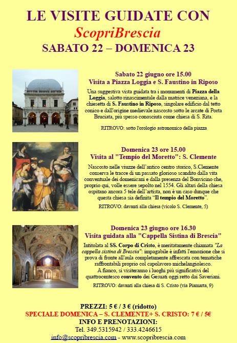 Le Visite Guidate con Scopri Brescia