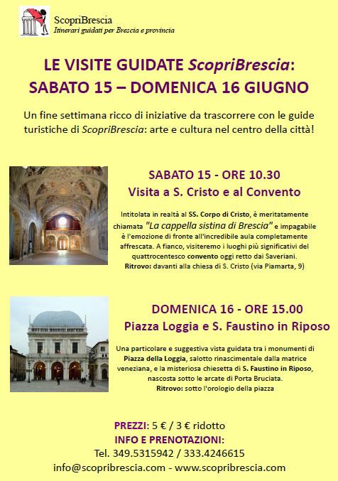 Le Visite Guidate di Scopri Brescia