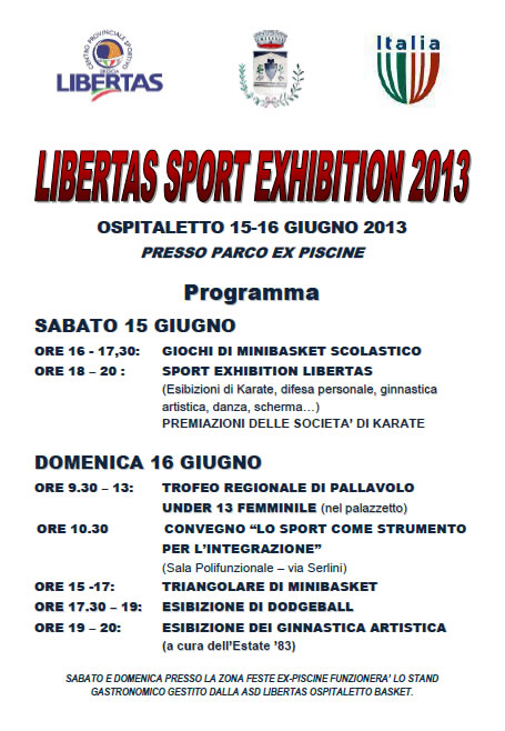 Libertas Sport Exhibition a Ospitaletto