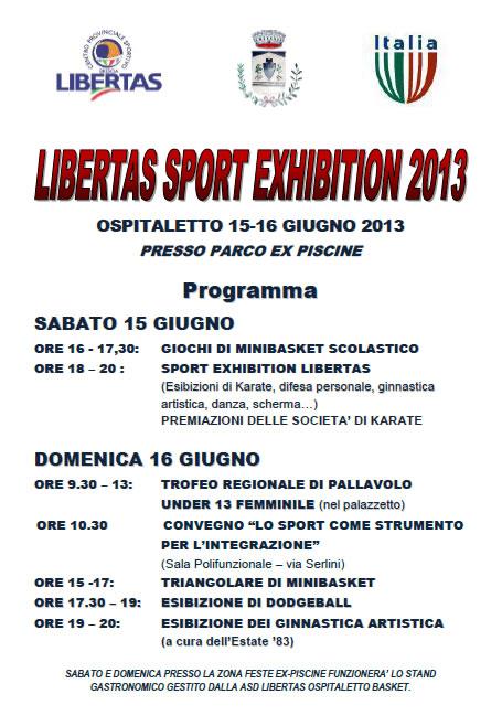 Libertas Sport Exhibition a Ospitaletto