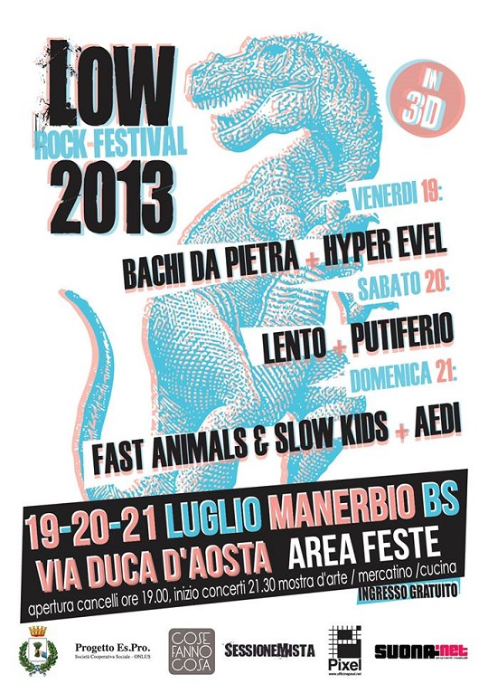Low rock festival 2013 Manerbio
