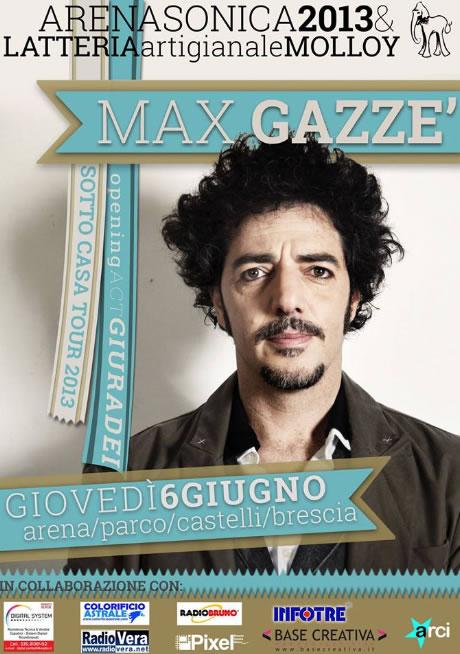 Max Gazze a Brescia