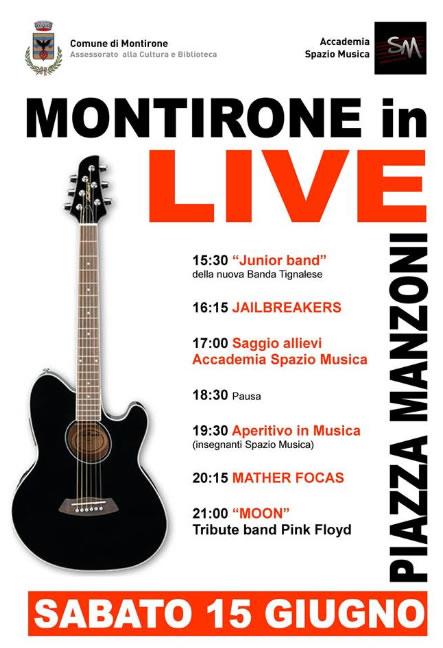 Montirone in Live