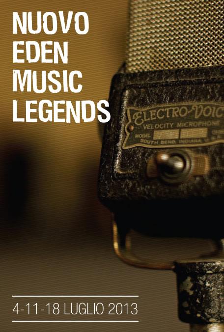 Nuovo Eden Music Legends a Brescia
