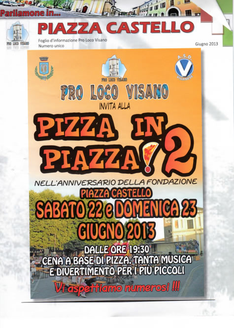 Pizza in Piazza 2 a Visano