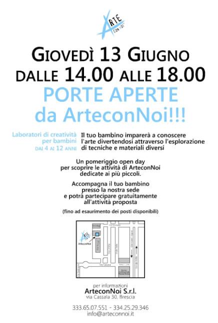 Porte Aperte da Arte con Noi a Brescia
