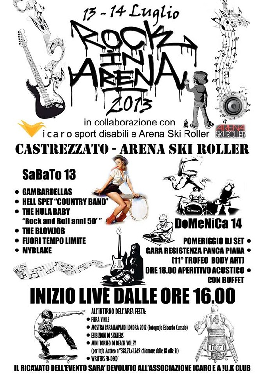 Rock in Arena 2013 Castrrezzato