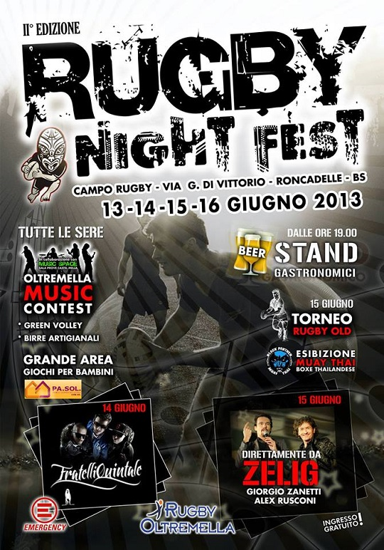 Rugby Night Fest 2013 a Roncadelle 2