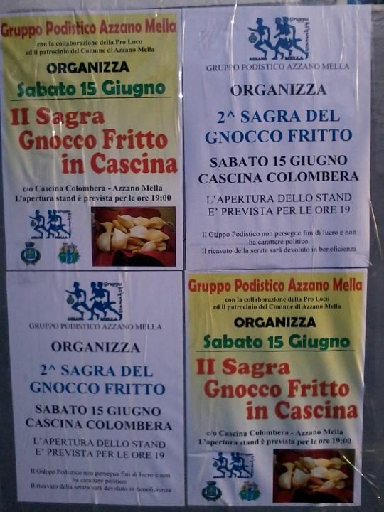 Sagra del Gnocco Fritto 2013 Azzano Mella