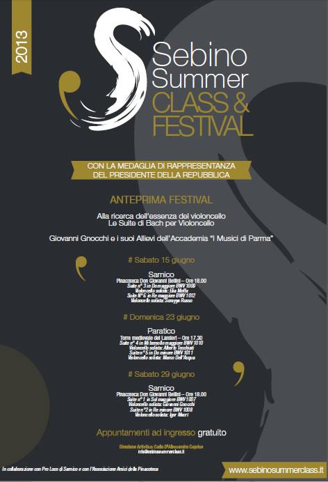 Sebino Summer Festival a Sarnico e Paratico
