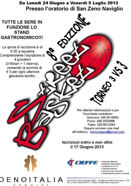 Street Basket a San Zeno N