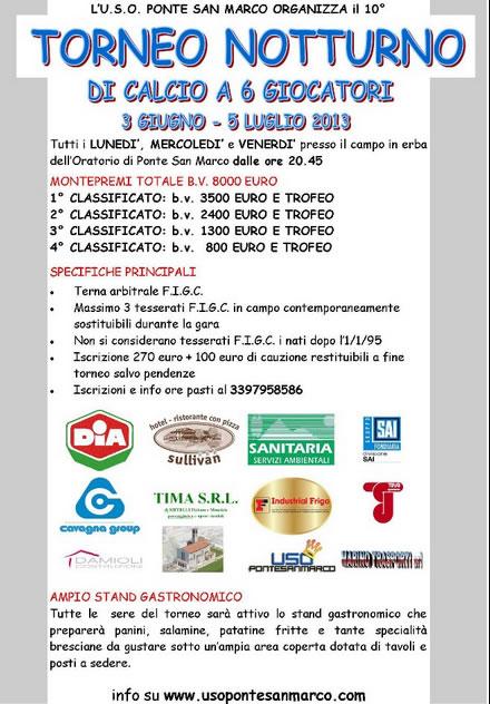 Torneo Notturno di Ponte San Marco