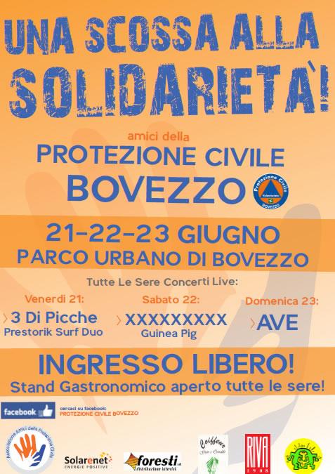 Una Scossa alla Solidarieta a Bovezzo