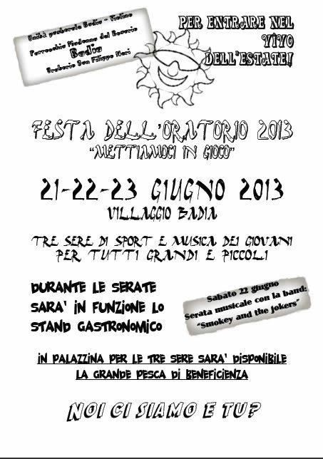 festa oratorio del Violino a Brescia