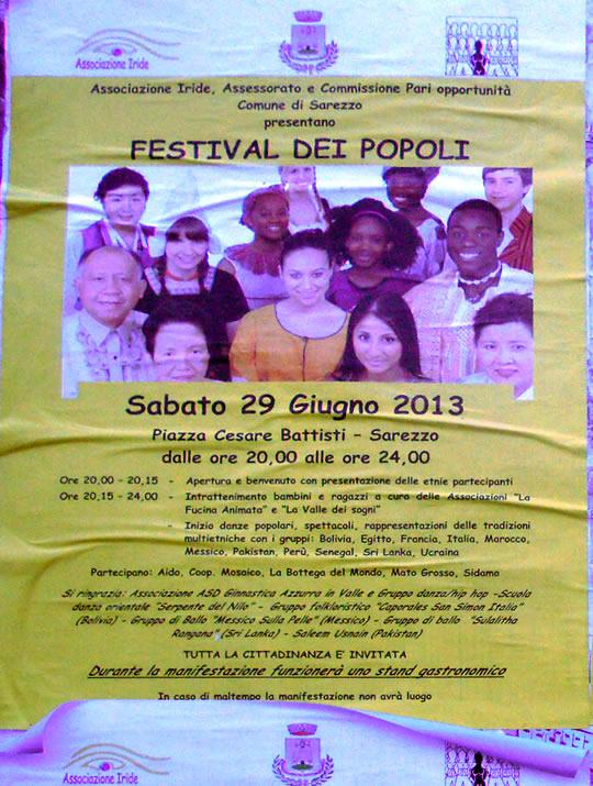 festival dei popoli a Sarezzo