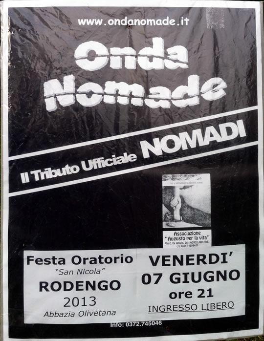 Onda nomade a Rodengo Saiano