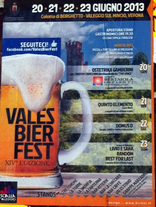vales bier fest a Valeggio