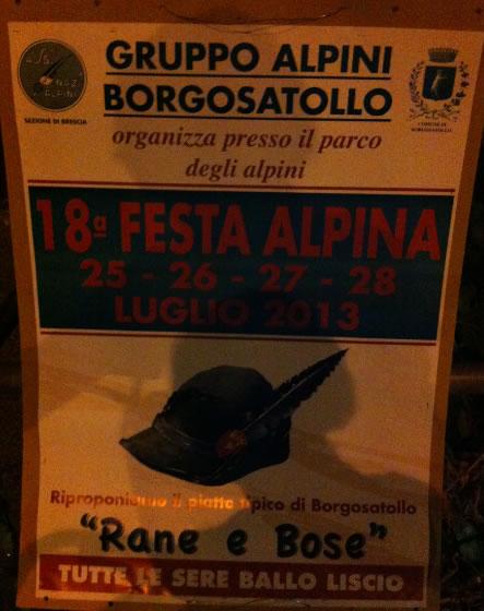 18 Festa Alpina a Borgosatollo