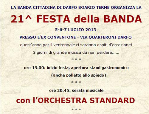 21 Festa della Banda a Darfo BT
