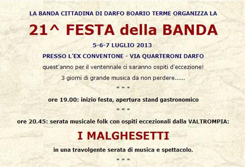 21 Festa della Banda