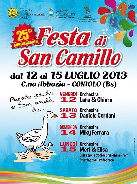 25 Festa di San Camillo 2013 Coniolo di Orzinuovi