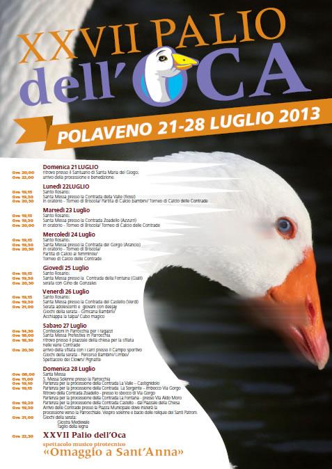 27 Palio dell' Oca a Polaveno