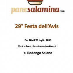 29° festa Avis Rodengo Saiano