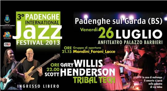 3 International Jazz Festival a Padenghe
