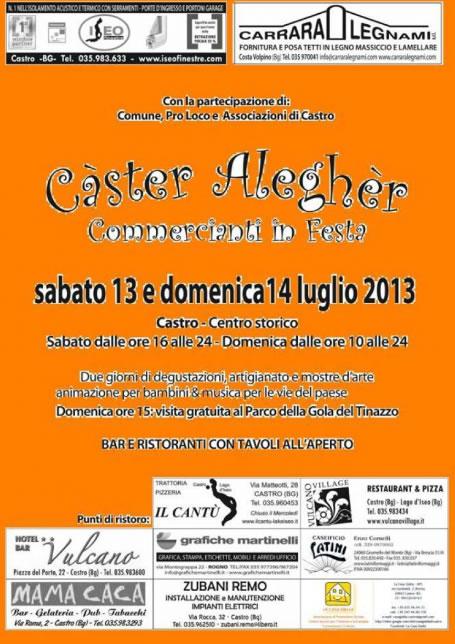 Caster Alegher a Castro (BG)
