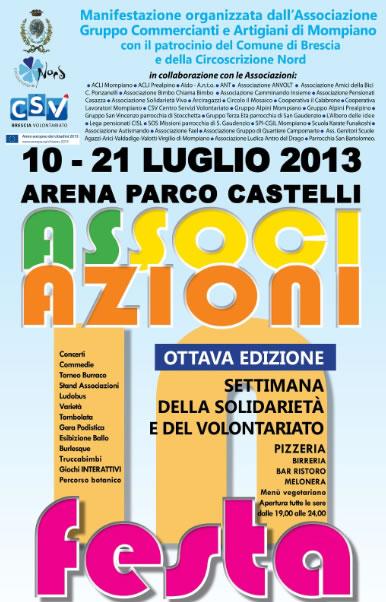 Festa Associazioni a Brescia