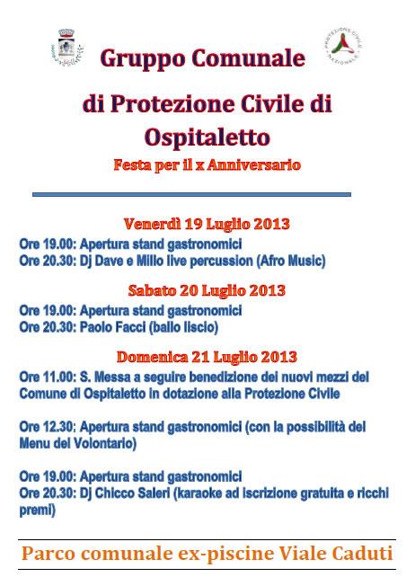 Festa Gruppo Protezione Civile
