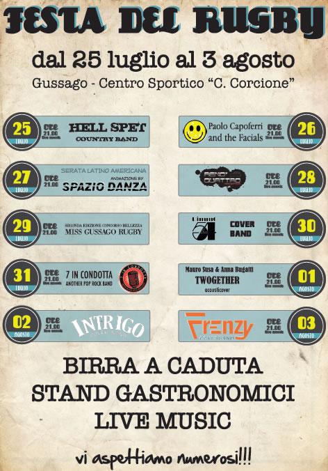 Festa del Rugby a Gussago