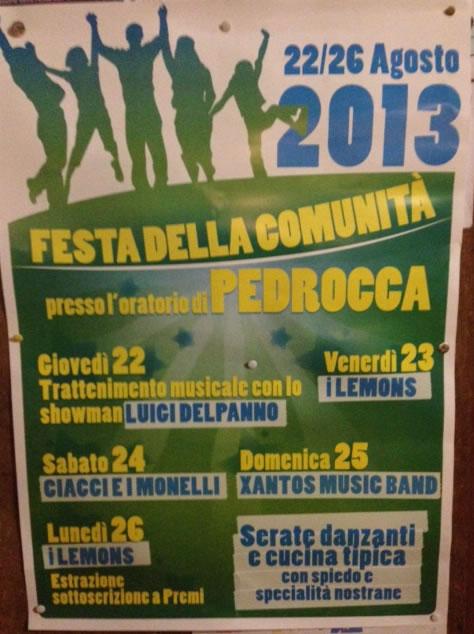 Festa della Comunita a Cazzago S. Martino