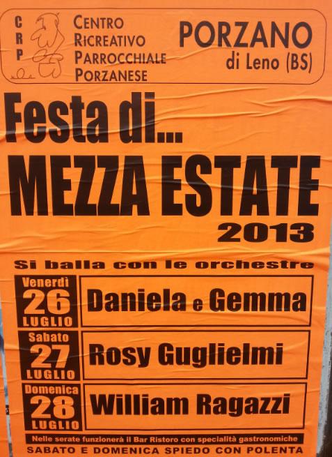 Festa di Mezza Estate a Porzano di Leno
