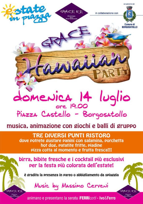 Hawaiian Party a Borgosatollo