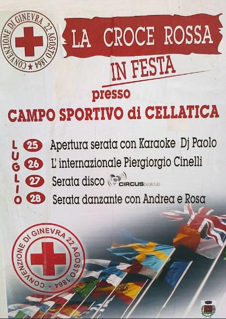 La Croce Rossa in Festa a Cellatica