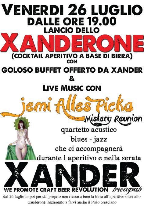 Lancio dello Xanderone a Brescia