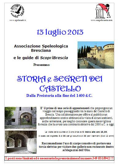 Storia e Segreti del Castello a Brescia