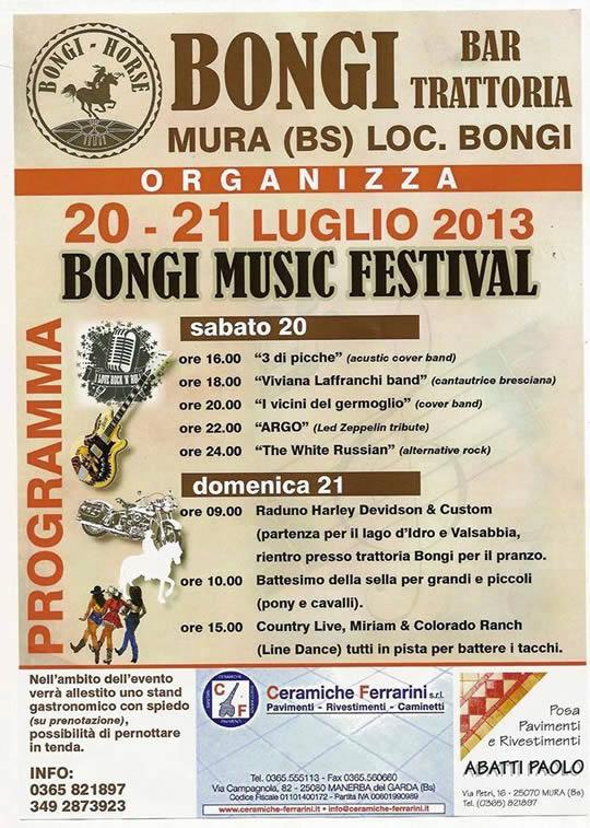 bongi music festival a Mura