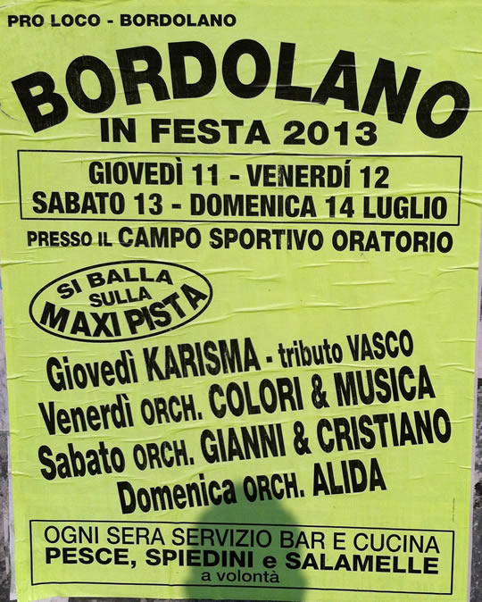 bordolano in festa