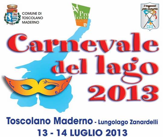 carnevale del lago a Toscolano Maderno