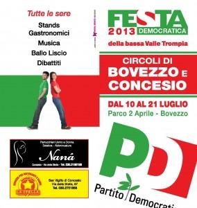 festa PD Bovezzo Concesio