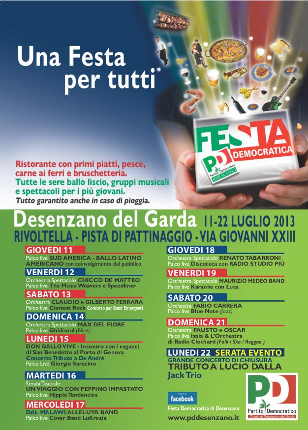 festa PD Desenzano