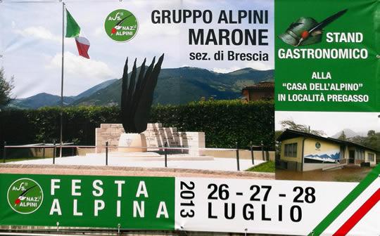 festa alpina a Marone