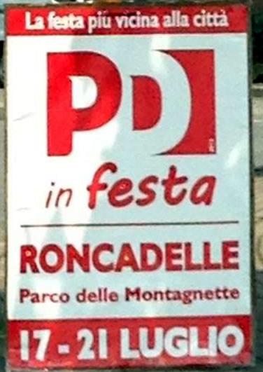 festa del PD a Roncadelle