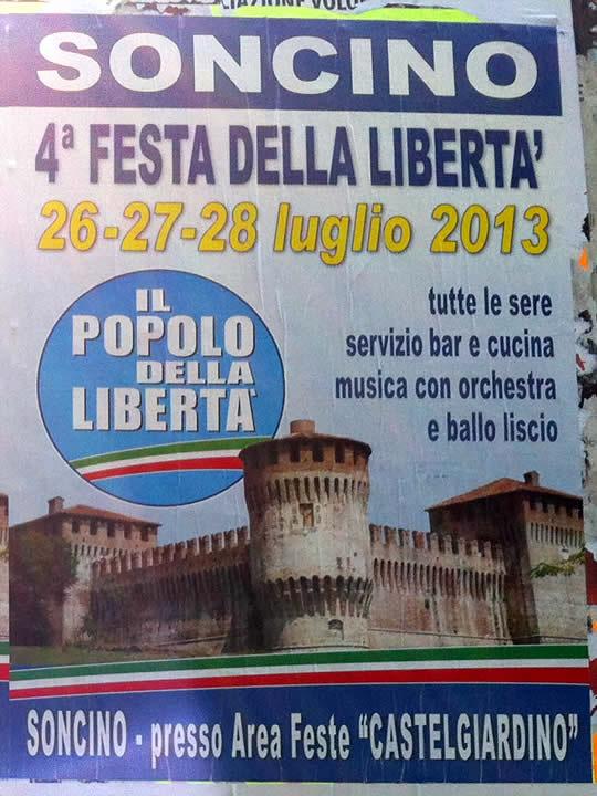 festa della liberta a Soncino